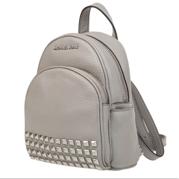 5718601adf Michael Kors Leather Abbey XS Studded Backpack